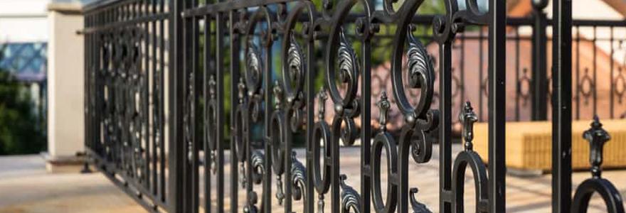 clôtures décoratives