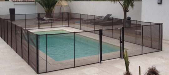 Barrière de piscines démontables